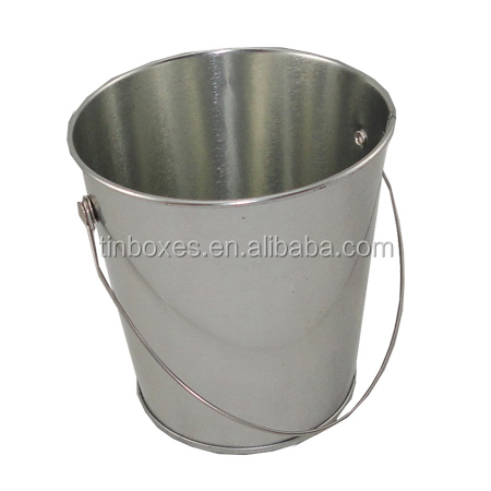 unique design food can metal tin packing barrel