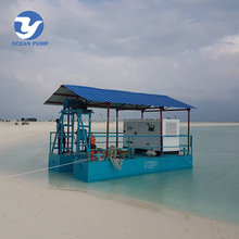 river and lake cleaning sand suction extraction machine