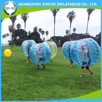 Super quality bumper ball inflatable giant outdoor play ball