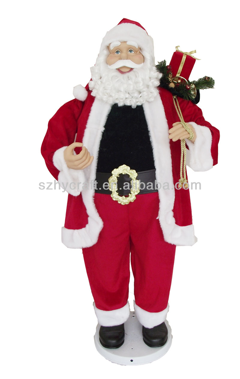 Animated Singning Dancing Santa Clause