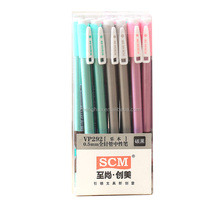 China pen Factory customized muji gel pen for promotion