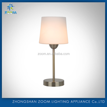 Home decoration nice design fashion style table lamp for bedroom