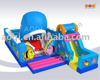 AOQI most popular hard-wearing quality inflatable playground AQ01129