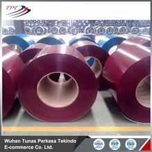 Pre painted zinc coated steel and iron coil from china supplier
