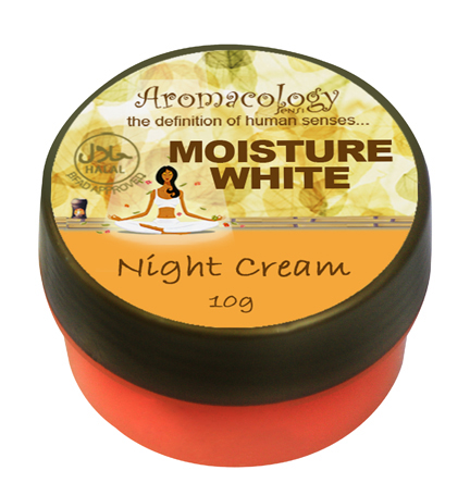 Moisture White Night Cream 10g