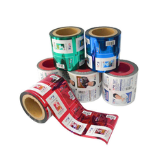 Customization biodegradable food packaging plastic printed roll film