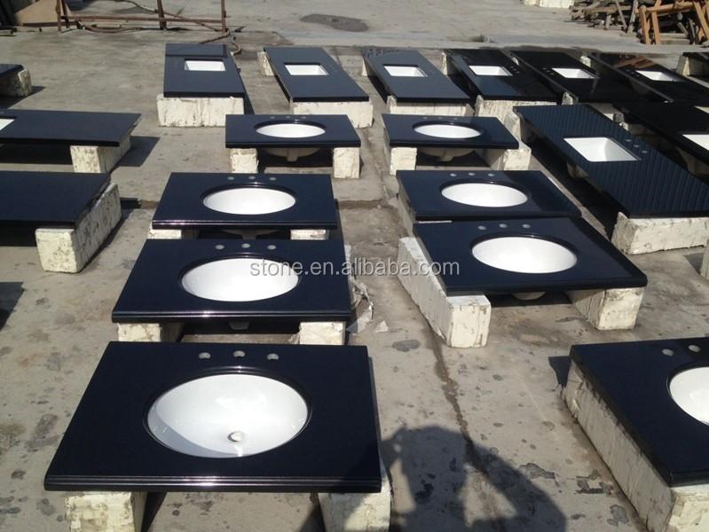 vorgefertigten granit arbeitsplatte schwarz granit. Black Bedroom Furniture Sets. Home Design Ideas