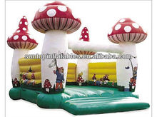 most popular inflatable mushroom jumping castle for kids