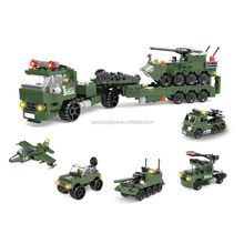 820 PCS traction infantry fighting carmilitary series funny bricks building blocks
