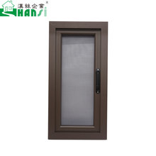 Best selling import aluminum insect net casement windows with stainless steel window screen