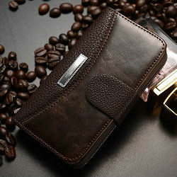 For apples 4g case , wallet card-slot pu leather cell mobile phone case for iphone 4/4s