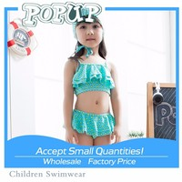 2015 New Arrival Sexy Show Navel Tops Micro Bikini For Little Girl Beach Dress
