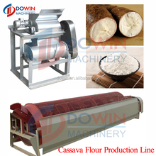 easy operation production line ediable flour yam powder