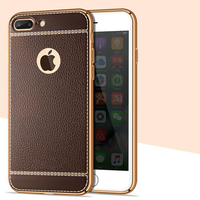 Hot selling case for Iphone 7 electroplated TPU print pattern blu cell phone cases