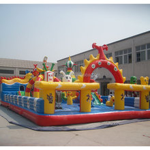 durable inflatable fun city