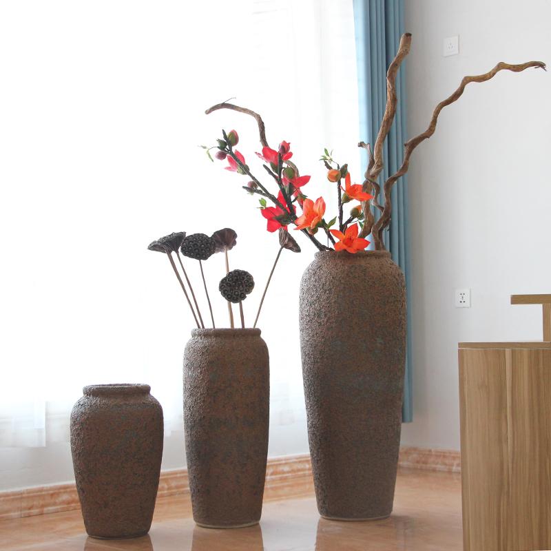 Ваза для декоративных цветов напольная своими руками