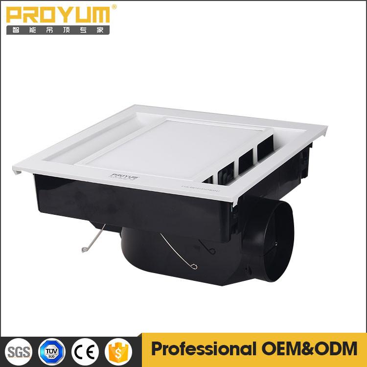 Ventilateur d 39 extraction lumi re plafond ventilateur d for Ventilateur salle de bain prix