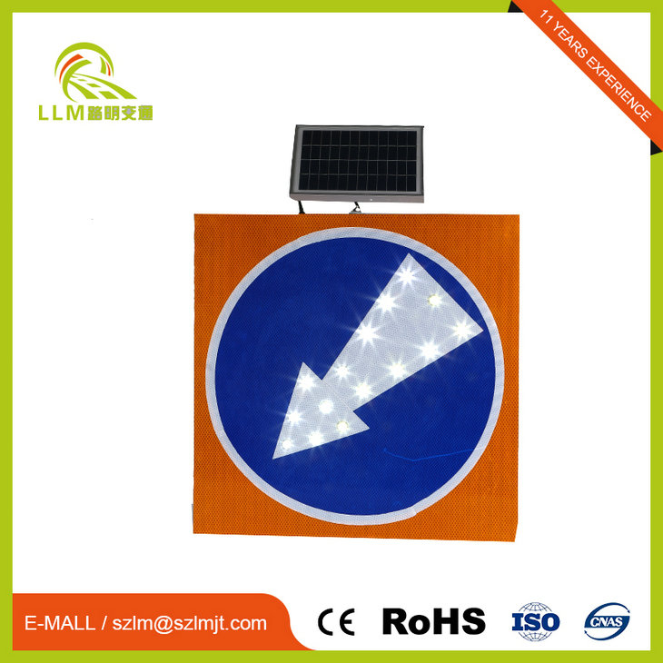 Customized professional led traffic sign board