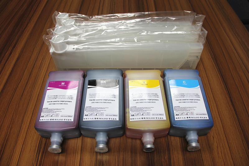 Convenient Refillable Ink Cartridge For Mimaki Printer