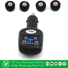 OEM tpms sensor tire pressur monitor with external sensor to monitor the tier temperature,tire pressure gauge XY-TPMS403E