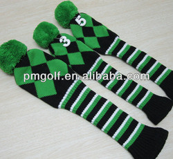 Favorites Compare Knit Golf Club Head Cover custom golf head covers