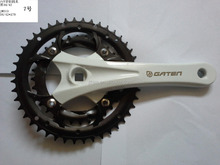 JTH313 (V)bicycle crank & chainwheel alloy crank 170mm and steel chainring 34T/42T