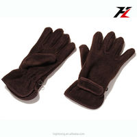 outdoors motorcycle riding and cycling polar fleece gloves with thinsulate lining