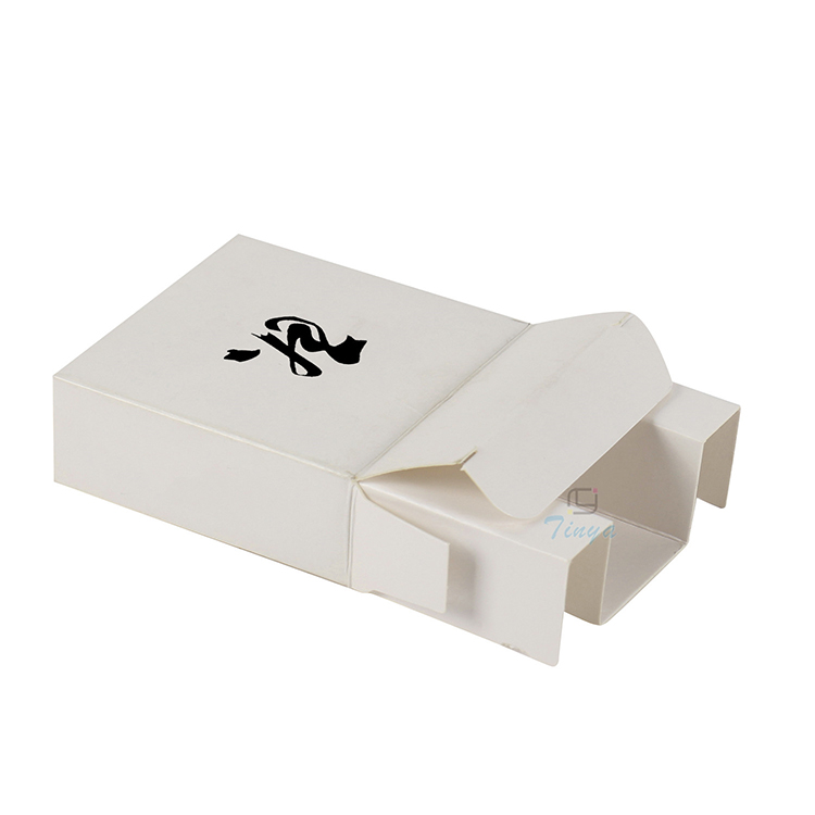 White electronic paper usb cable packaging box