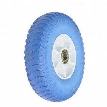12 Inch Airless Polyurethane Foam Cart Wheels 4.10/3.50-5
