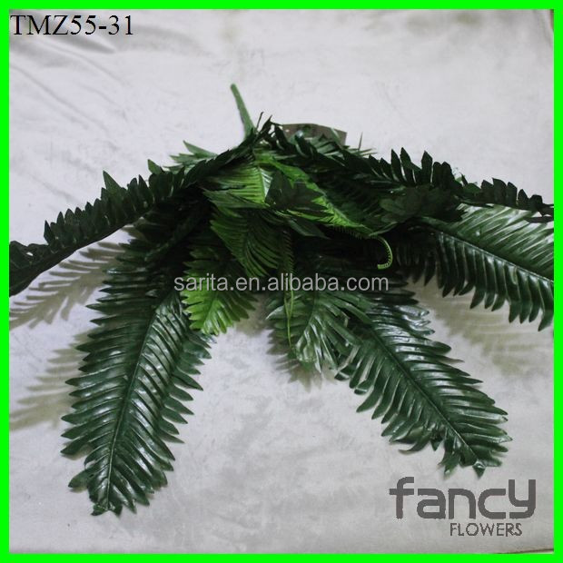 table decoration 24 heads artificial palm tree leaves