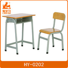 Mordern adjustable students desk and chair