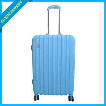 Fancy luggage bags pp flute board luggage carry on aluminium suitcase