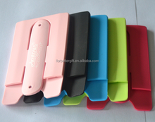 Smart Wallet Silicone Card Phone Holder,Mobile phone Stand Card Holder