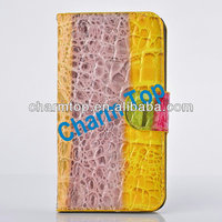 for Galaxy Note 3 High Quality Crocodile Leather Case
