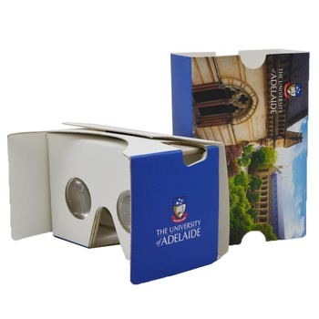 Christmas gift custom logo google cardboard vr 3D virtual reality headset