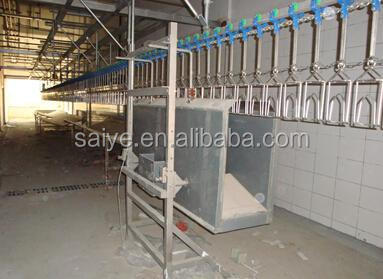 chicken slaughtering cutting machine