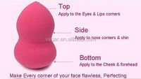 colorful makeup sponge Beauty Sponge Blender Makeup Blending Foundation Smooth Sponge 2015 New