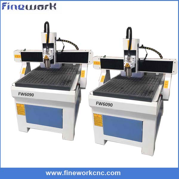 Cost effective FW mini lathe metal machine qili 3636 cutting machine cnc router