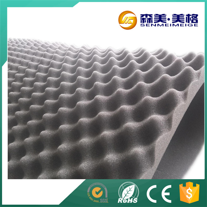 China manufacturer wall self adhesive sound insulation foam
