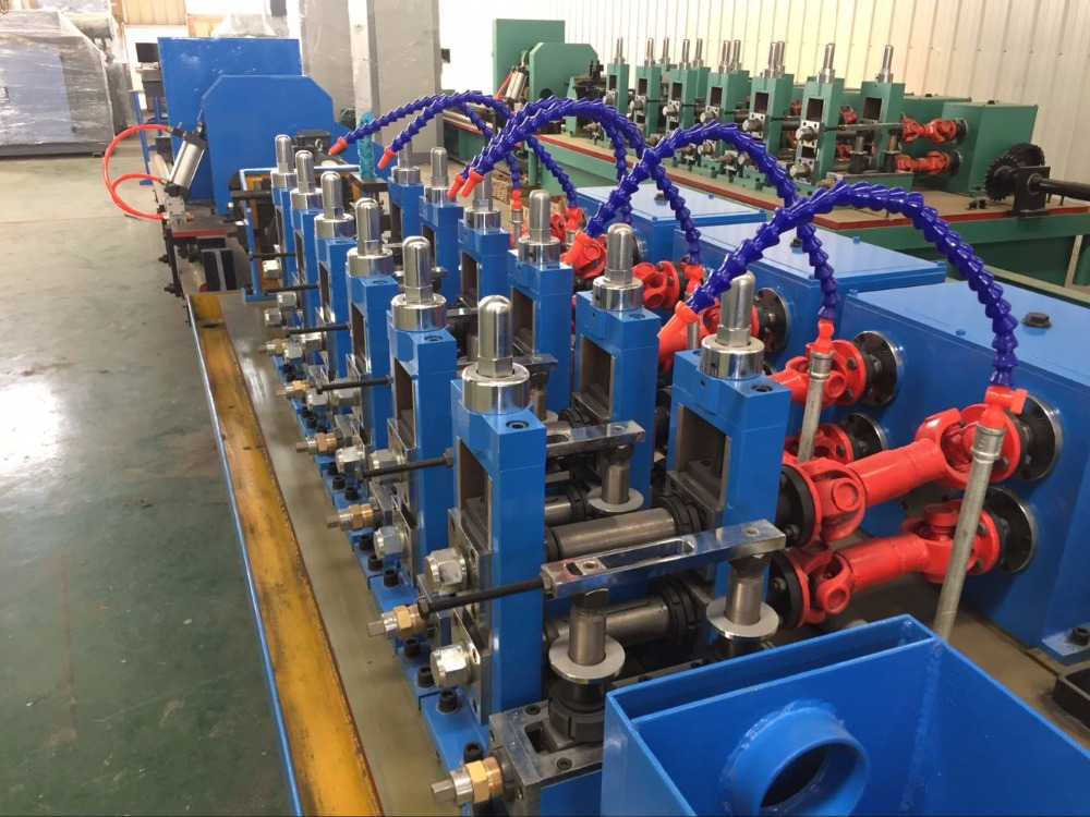 roll forming High-Frequency ERW tube mill machine