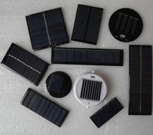 New 0.44W 5.5V 80MA epoxy mini solar panel for Solar Lights DIY