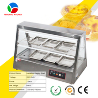 hot sale food warmer display counter/fried chicken display warmers