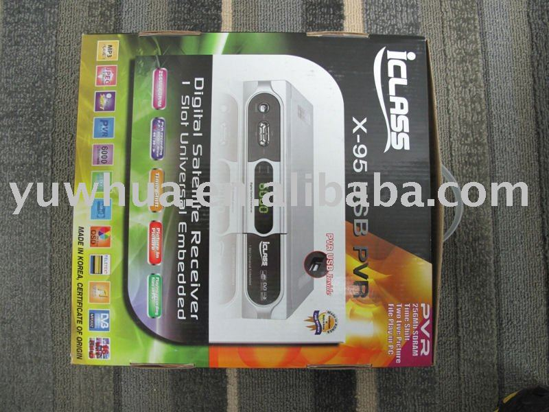 i CLASS X95 usb for middle east and africa receiver