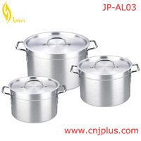 JP-AL03 China Factory Pink Pots And Pans Set