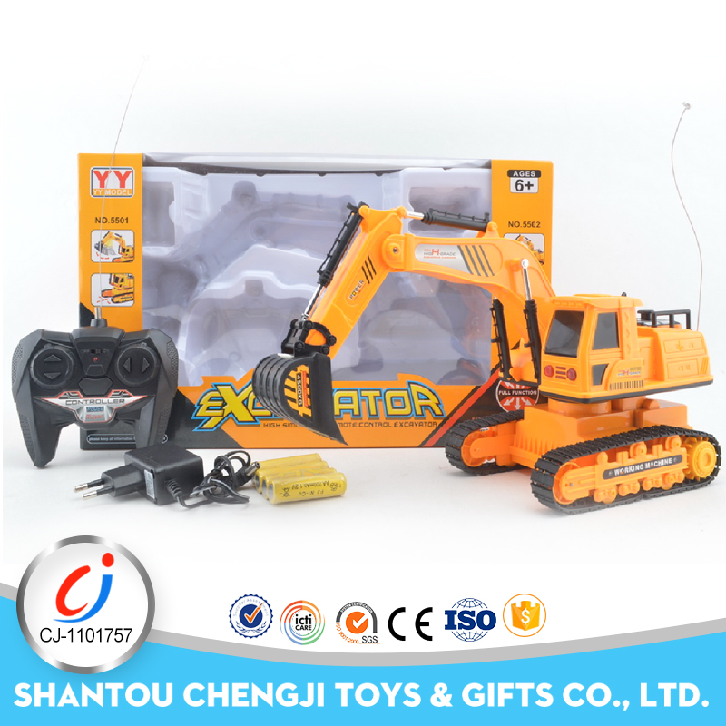 5CH excavator construction car rc kids toy short course truck