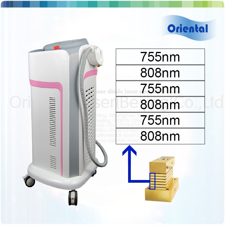 Advanced technology in one handle 755nm & 810nm laser hair removal agent recruit