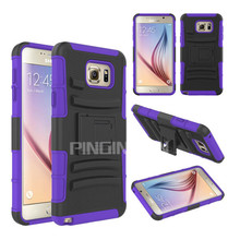 American hot top selling cell phone Combo robot case for Samsung Galaxy Note 5 smartphone Case