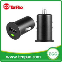 Compact design 5V 2.1A iphone5 Mini car charger usb