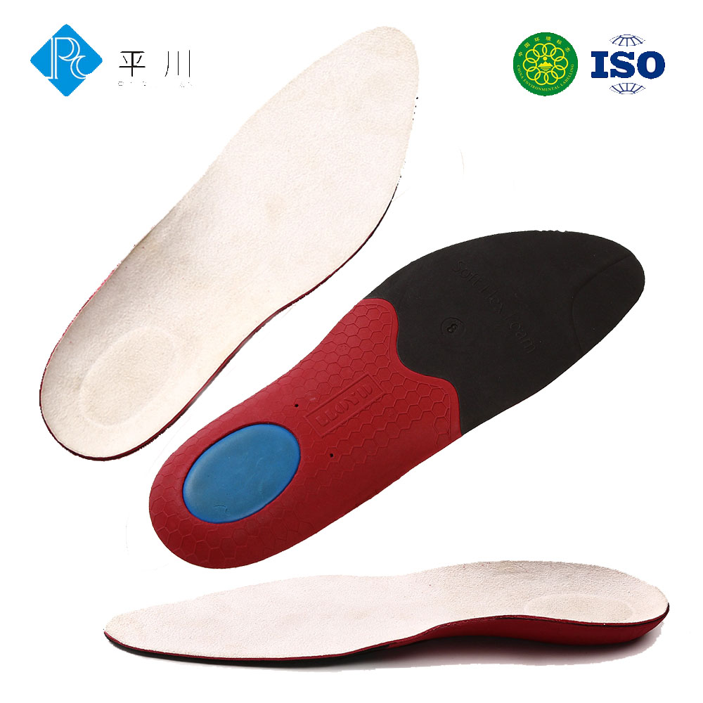 athlete sport insole orthotic footwear anatomical shoe