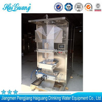 Best supplier in china water sachet pure water liquid sealing machine